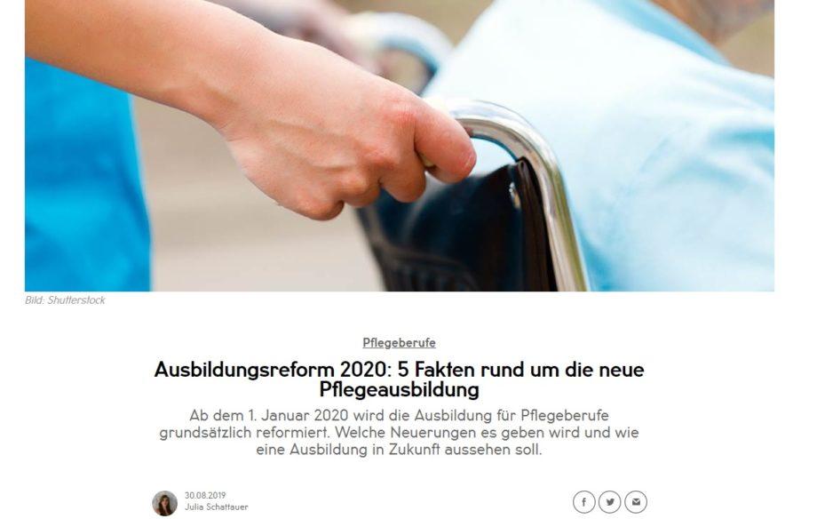 Berliner Akzente: Pflegeausbildung